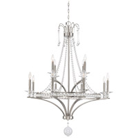 Savoy House Alana 12 Light Chandelier in Satin Nickel 1-402-12-SN