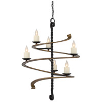 Napoli 6 Light 27 inch Durango Chandelier Ceiling Light