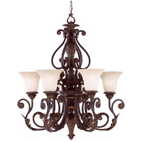 Savoy House Cordoba 6 Light Chandelier in Antique Copper 1-4084-6-16