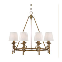 Savoy House Foxcroft 8 Light Chandelier in Aged Bronze 1-4158-8-291 photo thumbnail