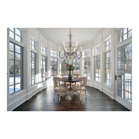 Savoy House 1-4341-9-192 Madeliane 9 Light 31 inch Distressed White Wood and Iron Chandelier Ceiling Light alternative photo thumbnail