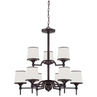 Hagen 9 Light 27 inch English Bronze Chandelier Ceiling Light