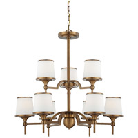 Savoy House Hagen 9 Light Chandelier in Heirloom Brass 1-4380-9-178