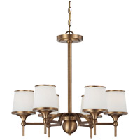 Savoy House Hagen 6 Light Chandelier in Heirloom Brass 1-4381-6-178
