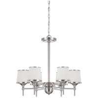 Hagen 6 Light 24 inch Satin Nickel Chandelier Ceiling Light