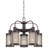Savoy House San Rafael 5 Light Chandelier in English Bronze 1-4730-5-13