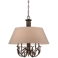 Savoy House Brambles 5 Light Chandelier in Moonlit Bark 1-4802-5-132