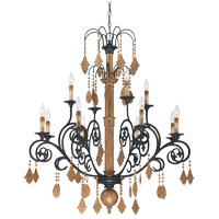 Savoy House Aragon 12 Light Chandelier in Penate Gold 1-501-12-286