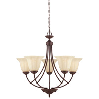 Savoy House Liberty 5 Light Chandelier in Walnut Patina 1-5022-5-40