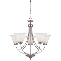 Savoy House Liberty 5 Light Chandelier in Satin Nickel 1-5022-5-69 photo thumbnail