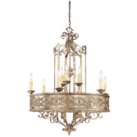 Savoy House Savonia 9 Light Chandelier in Oxidized Silver 1-506-9-128