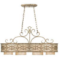 Savoy House Savonia 4 Light Island Light in Oxidized Silver 1-509-4-128