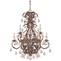Savoy House 1-5307-9-8 Chastain 9 Light 33 inch New Tortoise Shell with Silver Chandelier Ceiling Light alternative photo thumbnail
