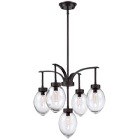 Savoy House Ravenia 5 Light Chandelier in English Bronze 1-540-5-13
