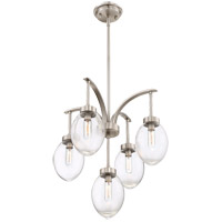 Ravenia 5 Light 20 inch Satin Nickel Chandelier Ceiling Light