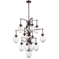 Savoy House Ravenia 13 Light Chandelier in English Bronze 1-542-13-13