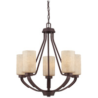 Savoy House Berkley 5 Light Chandelier in Heritage Bronze 1-5430-5-117