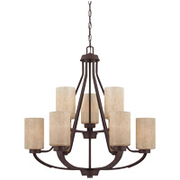 Savoy House 1-5434-9-117 Berkley 9 Light 26 inch Heritage Bronze Chandelier Ceiling Light photo thumbnail