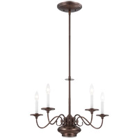 Savoy House Bancroft 6 Light Chandelier in Oiled Burnished Bronze 1-5450-5-28