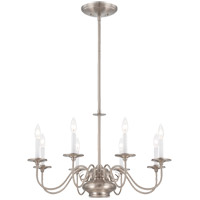 Savoy House Bancroft 9 Light Chandelier in Satin Nickel 1-5451-8-SN photo thumbnail