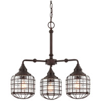 Connell 3 Light 23 inch English Bronze Chandelier Ceiling Light