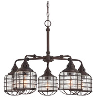 Connell 5 Light 26 inch English Bronze Chandelier Ceiling Light