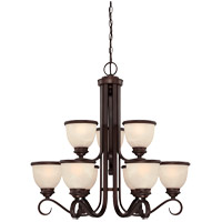 Savoy House Willoughby 9 Light Chandelier in English Bronze 1-5773-9-13 photo thumbnail