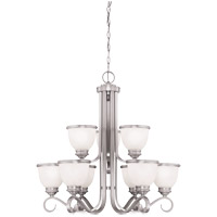 Savoy House Willoughby 9 Light Chandelier in Pewter 1-5773-9-69