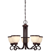 Savoy House Willoughby 5 Light Chandelier in English Bronze 1-5774-5-13 photo thumbnail