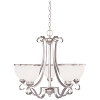 Willoughby 5 Light 25 inch Pewter Chandelier Ceiling Light
