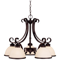 Willoughby 5 Light 27 inch English Bronze Chandelier Ceiling Light