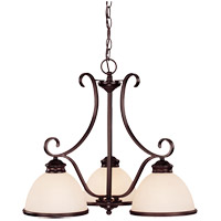 Savoy House Willoughby 3 Light Chandelier in English Bronze 1-5777-3-13