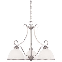 Willoughby 3 Light 23 inch Pewter Chandelier Ceiling Light