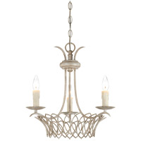 Savoy House Linwood 3 Light Chandelier in Vintage White 1-5780-3-329 photo thumbnail