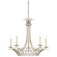 Savoy House Linwood 5 Light Mini Chandelier in Vintage White 1-5781-5-329 photo thumbnail