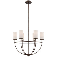 Savoy House Elgin 6 Light Chandelier in Galaxy Bronze 1-580-6-42