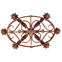 Savoy House Clyde 6 Light Chandelier in Relic Rust w/Hand Painted Accents 1-592-6-125 alternative photo thumbnail