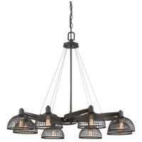 Wexford 8 Light 35 inch Remington Bronze Chandelier Ceiling Light