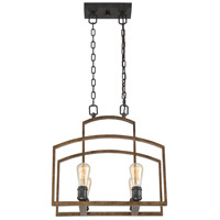 Savoy House Gage 4 Light Chandelier in Woodland Bronze 1-6058-4-87