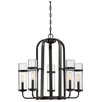 Savoy House 1-6061-5-13 Tulsa 5 Light 26 inch English Bronze Chandelier Ceiling Light