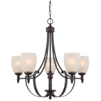 Savoy House Duvall 5 Light Chandelier in English Bronze 1-621-5-13