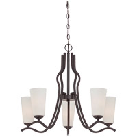 Savoy House Charlton 5 Light Chandelier in English Bronze 1-6220-5-13