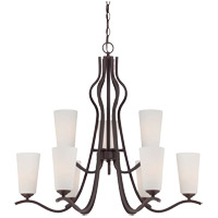 Savoy House Charlton 9 Light Chandelier in English Bronze 1-6221-9-13 photo thumbnail