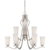 Charlton 9 Light 30 inch Satin Nickel Chandelier Ceiling Light