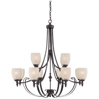 Savoy House Duvall 12 Light Chandelier in English Bronze 1-623-12-13