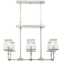 Savoy House Damascus 6 Light Chandelier in Satin Nickel 1-652-6-SN