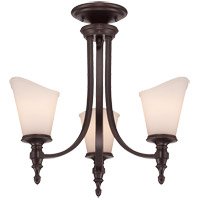 Savoy House Bishop 3 Light Chandelier in English Bronze 1-6540-3-13