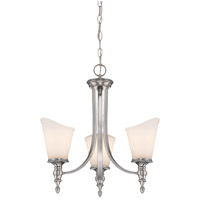 Savoy House Bishop 3 Light Chandelier in Brushed Pewter 1-6540-3-187 alternative photo thumbnail