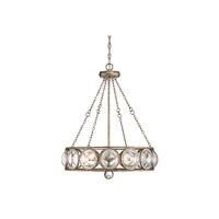 Warwick 5 Light 24 inch Brittania Gold Chandelier Ceiling Light