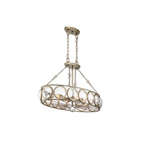 Savoy House 1-6701-6-114 Warwick 6 Light 35 inch Brittannia Gold Trestle Ceiling Light alternative photo thumbnail